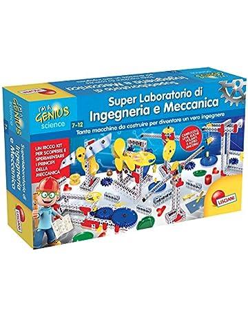 1073d25c9842 Lisciani Giochi- I'm A Genius Piccolo Genio Super Laboratorio di INGEGNERIA  E Meccanica