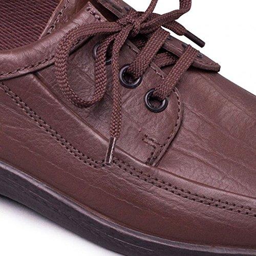 Pour De Padders Lacets Ville Marron À Chaussures Homme HXqwq5a