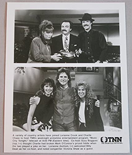 Suzy Bogguss Billy Dean Lorianne Crook Charlie Chase Music City Tonight 8x10
