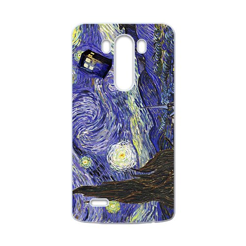 Doctor Starry night painting Who Cell Phone Case for LG G3