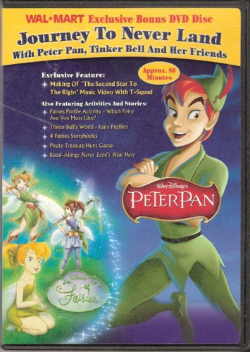 Journey To Neverland With Peter Pan, Tinker Bell And Her Friends