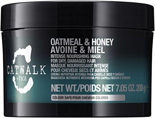 Tigi Catwalk Oatmeal and Honey Intense Nourishing Mask for Unisex, 7.05 Ounce -