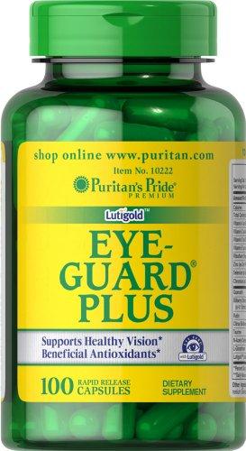 025077102228 - Puritan's Pride Eye Guard Plus-100 Capsules carousel main 0