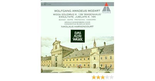 Wolfgang Amadeus Mozart, Nikolaus Harnoncourt, Concentus Musicus Wien, Arnold Schoenberg Choir, Barbara Bonney, Håkan Hagegård, Jadwiga Rappe, ...