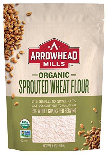 Arrowhead Mills Organic Sprouted Wheat Flour, 16 Ounce