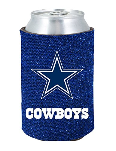 Kolder Dallas Cowboys Cooler - Kolder Dallas Cowboys Kolder Kaddy Can Holder - Glitter