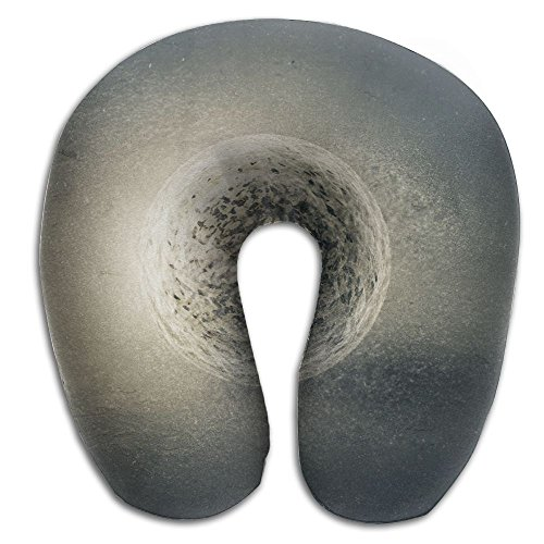 - Laurel Neck Pillow Fantasy Ball On Ground Travel U-Shaped Pillow Soft Memory Neck Support for Train Airplane Sleeping