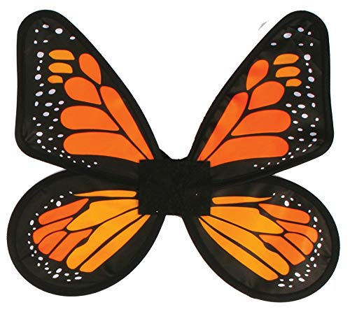 Fun World Satin Adult Butterfly Orange Wings -