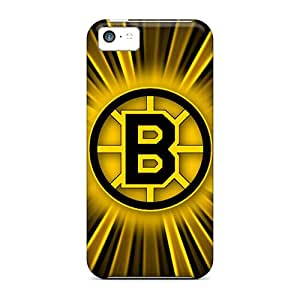 Iphone 5c TMF5115DSGK Customized Colorful Boston Bruins Pattern Great Hard Phone Covers -ErleneRobinson