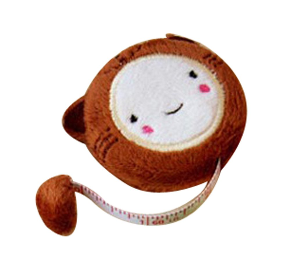 Lovely Monkey Tape Measure Rulers 150CM Ruler Measuring Tape, 3 Pieces