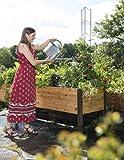 Gardener's Supply 2 Ft x 8 Ft Raised Garden Bed Elevated Cedar Planter Box Standing Garden (24'' x 96'')