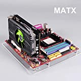 PC Open Frame Test Bench ITX ATX Mini ITX MATX EATX Motherboard Transparent Acrylic Overlock Computer Case DIY Mod Base Stand