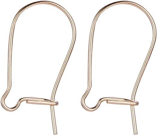 FLAMEER 200 St/ücke Angeln Lock Karabinerhaken Locken Stecker Wirbel Ring Clips 9mm 11mm