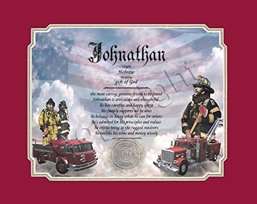 my dad is the best fireman fathers day keepsakes includes fathers day poem with our