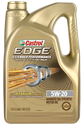 Castrol 03086 Edge Extended Performance 5w 20 Synthetic