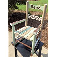 FOUR COLOR TODDLER ROCKING CHAIR
