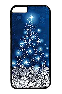 Christmas In The Blue Sky1 iPhone 6 Cases (4.7 inch) Cover For PC Black