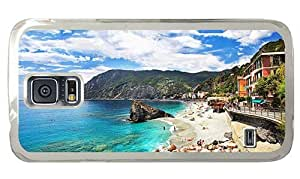 Hipster customize Samsung Galaxy S5 Case riviera beach italy PC Transparent for Samsung S5