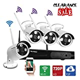 AKASO Wireless Security Camera System Vi...