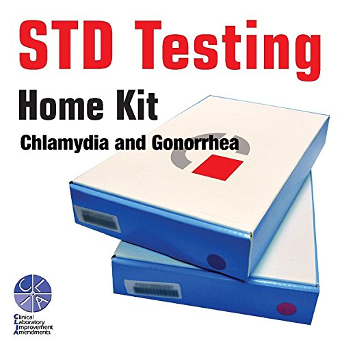 At Home STD Test for Men Lab Certified Results in 3-5 Days / Private mail in result (Chlamydia / Gonorrhea)