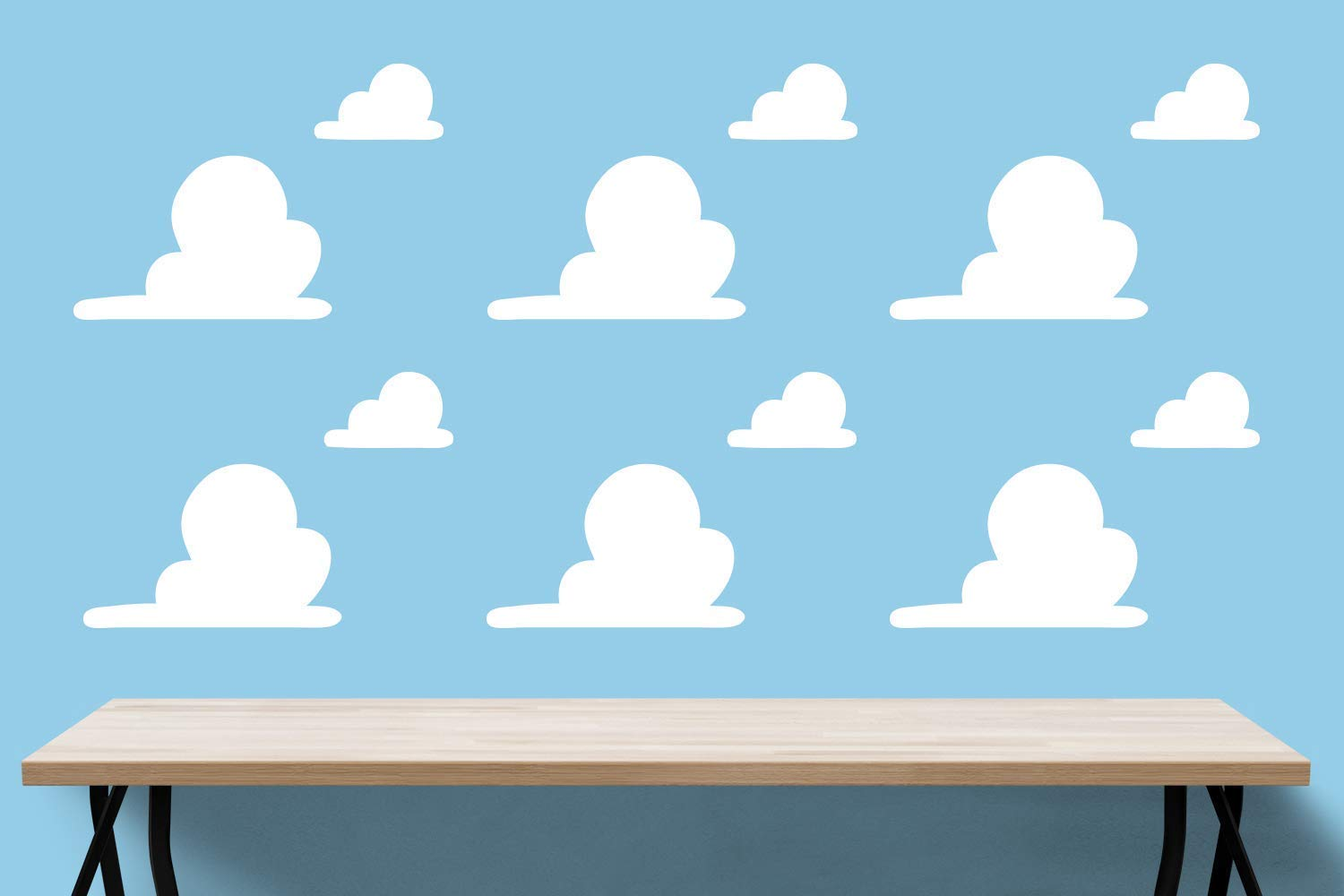 Amazon Com Wall Clouds Big And Small Toy Story Wall Decal