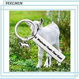 FEELMEM Funny Goats Lovers Gift Whatever Floats