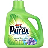 Purex Liquid Laundry Detergent, Natural Elements Lilac & White Lavender, 150 oz (100 loads)