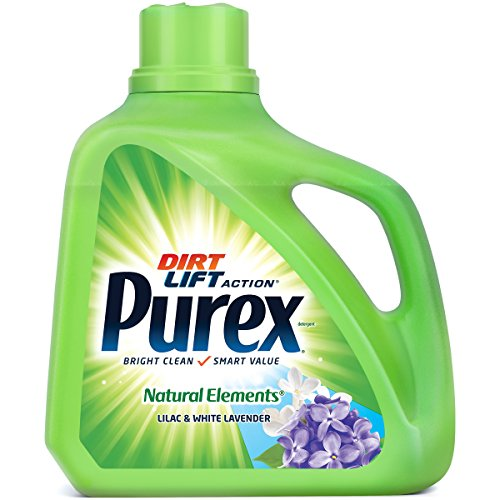 Purex Liquid Laundry Detergent, Natural Elements Lilac & White Lavender, 150 oz (100 ()