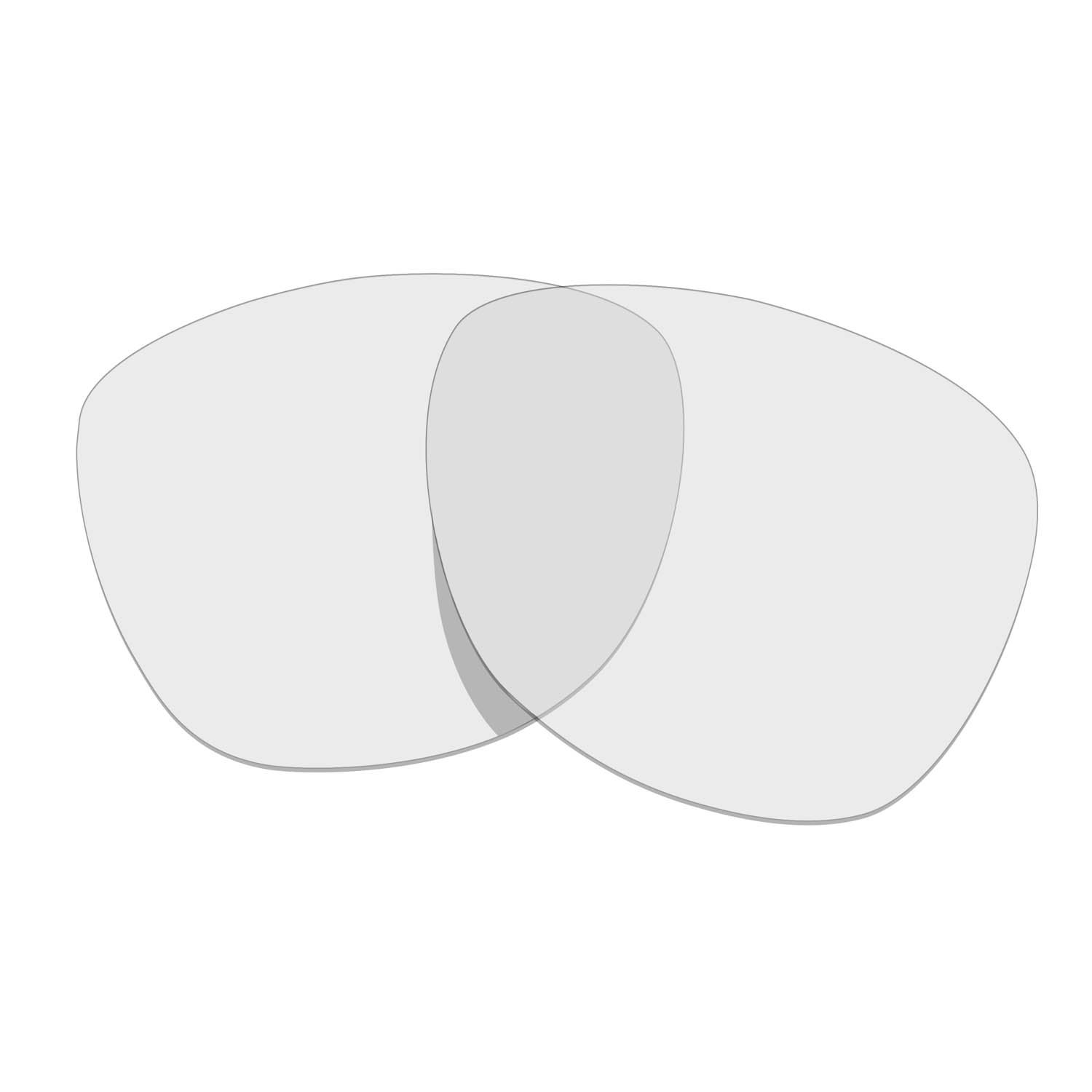 Hkuco Mens Replacement Lenses For Oakley Frogskins Sunglasses Transparent Polarized