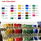 DMC Embroidery Floss Pack,Colorful Holiday