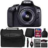 Canon EOS 1300D/T6 DSLR camera with 18-55mm Lens and Accessories