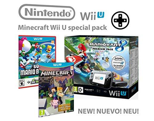 Nintendo-consola-Premium-Pack-32GB-Wii-U-Minecraft-Wii-U-Edition-Mario-Kart-8-Super-Mario-Luigi-U-Mega-Pack-4-Juegos