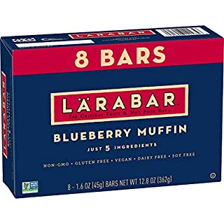 Larabar, Gluten Free Bar, Blueberry Muffin, 8 Count