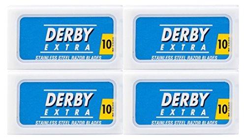 40 Derby Extra Blue Razor Blades