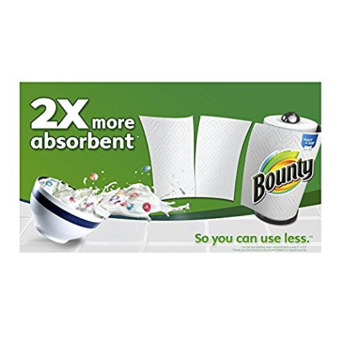 Large Product Image of Bounty Paper Towels, White, Big Rolls-12 ct (SELECT-A-SIZE)