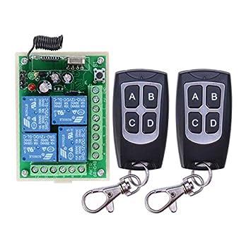 Alta sensibilidad DC 12 V 4 CH 4 canales mando a distancia ...