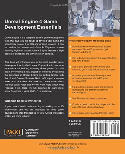 Unreal Engine 4 Game Development Essentials: Amazon in: P  V
