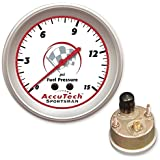 Longacre 52-46509 AccuTech Fuel Pressure Gauge, Sealed