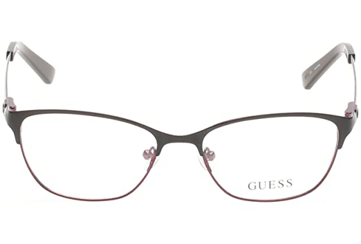 Amazon.com: Guess 2499 52002 2.047 in - Gafas de sol: Clothing