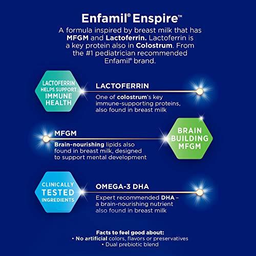 Enfamil Enspire Baby Formula Milk Powder & Refills, 102.5 Ounce, Omega 3 DHA, Probiotics, Immune Support by Enfamil (Image #4)