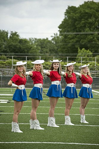 2014 Photo Five of the approximately 75 Kilgore College Rangerettes, a choreographed dance team that first formed in 1940 Location: Kilgore, - Usa Offers Thanksgiving 2014