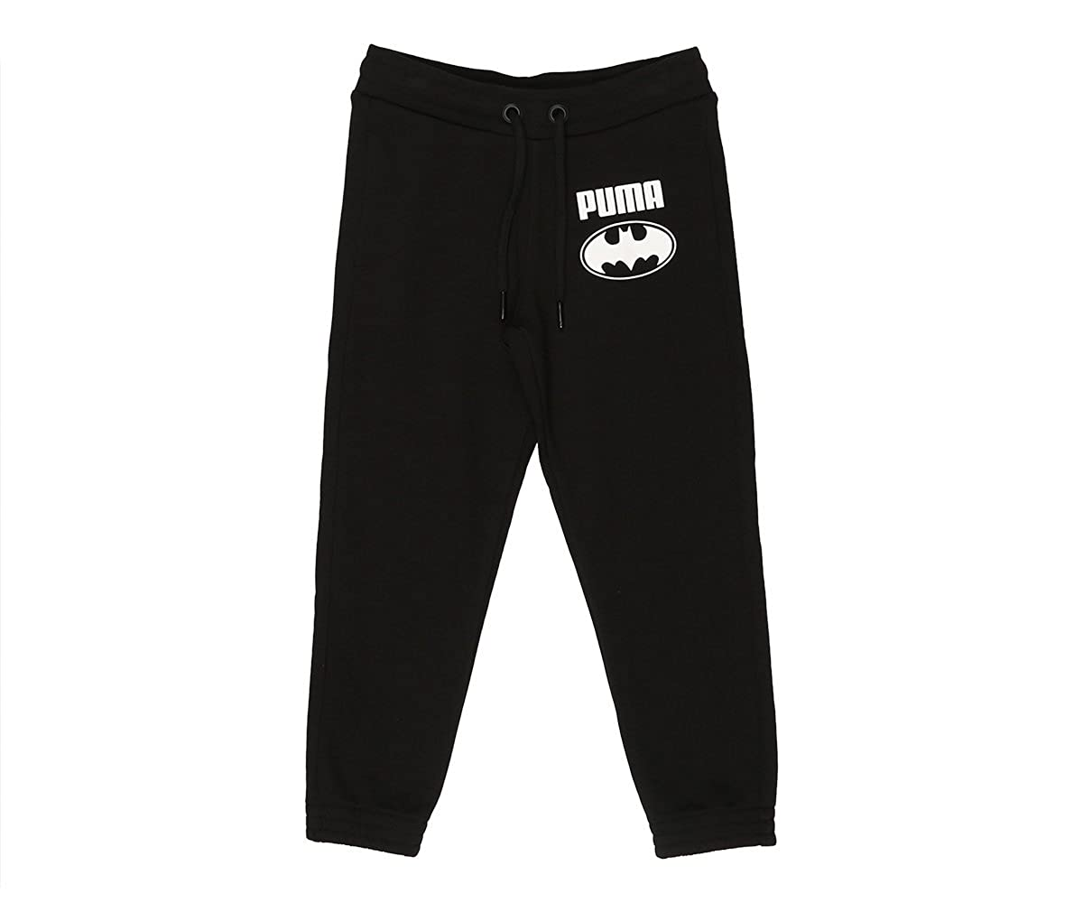 Puma Niños Style Batman Sweat Pants Pantalón, Cotton Black: Amazon ...