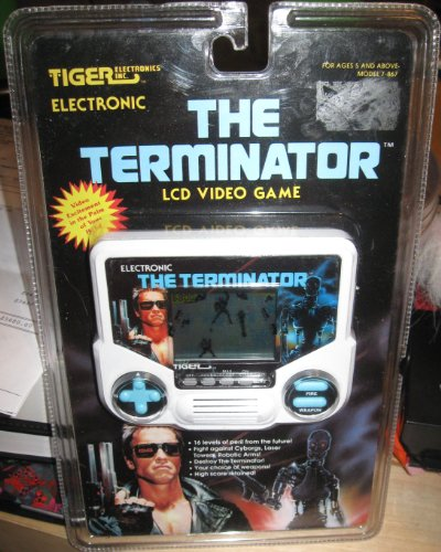 UPC 050626786703, The Terminator LCD Handheld Video Game (1991) - TIGER