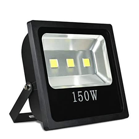 Wapipey 150W COB LED Patio de juegos Estadio Reflector Luz de ...