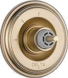 kohler bronze trim kit - Delta T11897-CZLHP Cassidy 3 Function Diverter Trim without Handle, Champagne Bronze