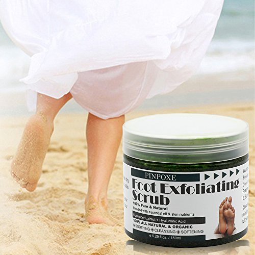 Foot Scrub, Foot Exfoliating Scrub Gel, Foot Callus Remover, Softens Feet, Remove Foot Callus & Dead Skin Cleansing Moisturizing ,Thick Cracked Rough Dead Dry Heel Feet With Natural Phytoextraction by BUOCEANS (Image #7)