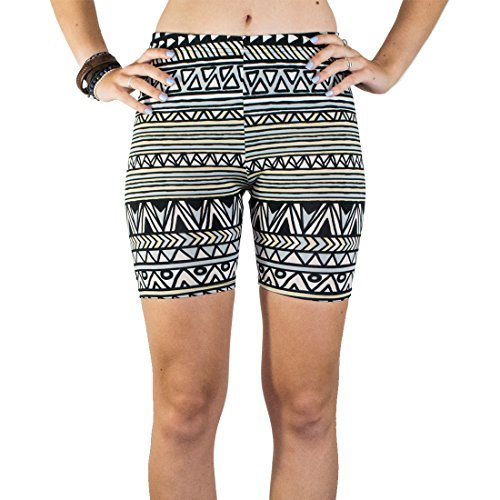 Mayan Outfit (Booties, Women's Breathable Yoga Exercise Swim Party Shorts :: Mayan Ascent)