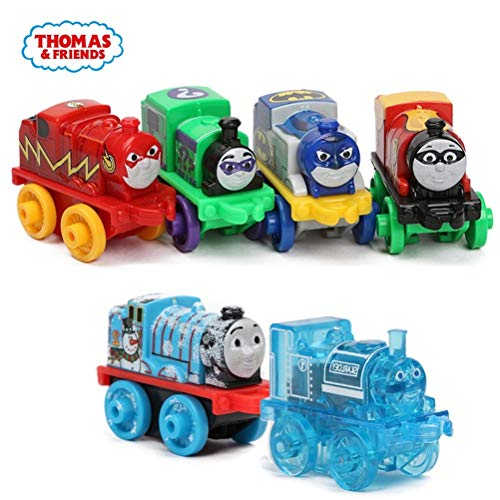 (LQT Ltd 5pcs Thomas&Friends James Gordon Emily Annie Clarabel Mini Trains Diecast Metal Magnetic Trackmaster Wooden Railway Classic)