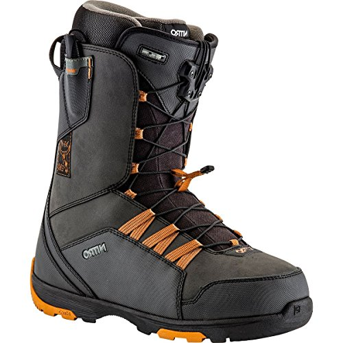 Nitro Thunder TLS Snowboard Boot - Men's Black/Dirty Gold, 10.5/28.5 - Nitro Thunder