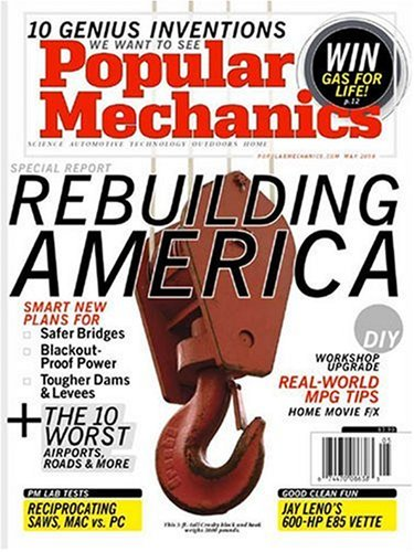 Popular Mechanics Subscription >> Popular Mechanics Amazon Com Magazines